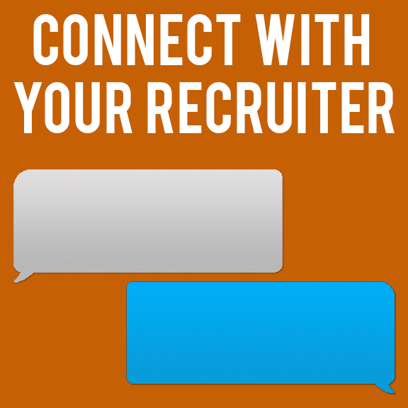 Connect with recruit